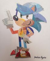Sonic the Paperhog by Sonjamsn40