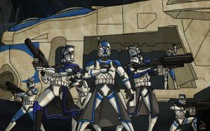 Clone Wars - Changing Tides by SmacksArt