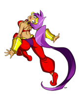 Shantae Leap by OptionalTypo