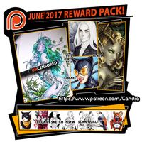 Patreon June Rewards by Candra