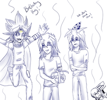 Ryous Birthday Party by kimartess