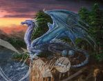 Mother Dragon by TzimplyArt