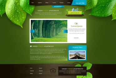 Green Forest Apartments by Sansana