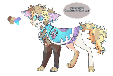 Custom Design Commission For Ghostpupp by Human-Total