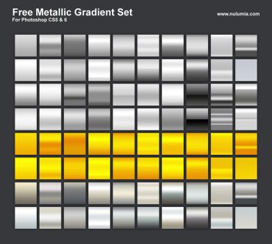 Metallic Gradient Set by Nulumia by Nulumia