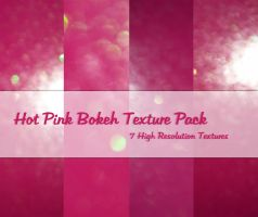 Hot Pink Bokeh Texture Pack by powerpuffjazz