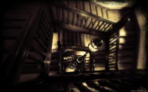 The Stairs Of Liberty 1920x120 by l8