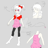.:UTAU:. Kitty Kokone - 10 years later REF by A-Daiya
