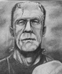 Frankenstein's Monster by theR3AP3R