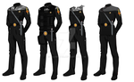 ISS Vanguard Marine Officer Uniform by docwinter