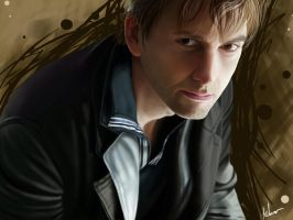 David Tennant by xX-blacktulip-Xx