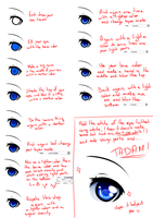 [TUTORIAL] - How I color my eyes by PrinceIess