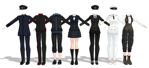 | Download Series | Various Outfits by Mavaphia