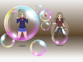 Magic bubble By Chitose by sunnyDg