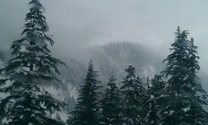 Snoqualmie Pass by WingMcCallister