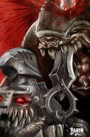 Infinity Blade 2 and Destructoid by Falth-orn