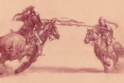 Joust Preliminary by Michael-C-Hayes