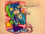 Yuki and The Mamegoma Seals by Coffee-Karin