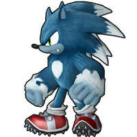 Sonic Runners - Sonic The Werehog Model!!! by supersilver1242