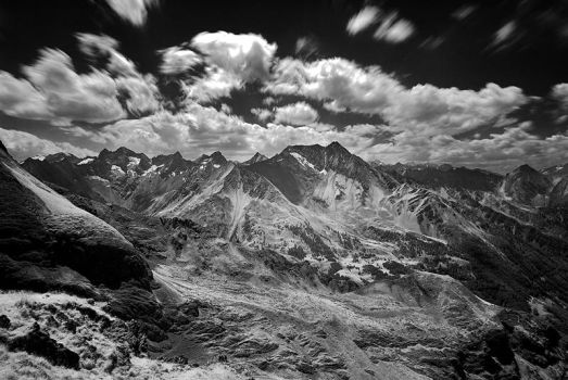 The Alps landscapes by mutrus