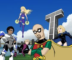 Teen Titans Voice Actors by JohnSlaughter