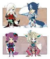[CLOSED] ADOPT AUCTION 88 - Kimono by Piffi-sisters