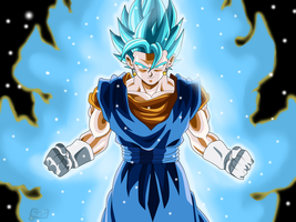 Vegetto Super Saiyan Blue (Wallpaper) by ChronoFz