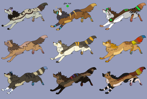 Canine Breeder Sheet 2015! OPEN by LizzysAdopts