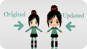 .:Vanellope UPDATE:. by capricova