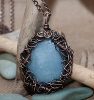 Enchanted Entwined Pendant by starpixiecreations