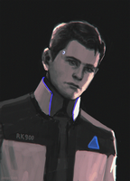 Connor_RK900 by dedecoris
