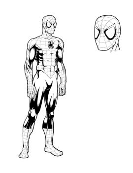 Spider-Man Character Study by stantausan