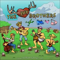 The Luv Brothers' Album Cover by Art-by-Andy