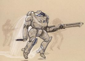 HPA-39 Patton Battlesuit by Jepray