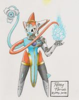 Pokemon X Overwatch: Deoxys X Symmetra