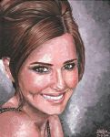 Cheryl Cole by iggytheillustrator