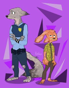 Judy and Nick by TheDarkShadow1990