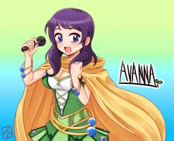 VOCALOID3 Avanna -fanart- by Smith-hioka