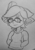 Marie Hoodie Sketch by Super-Jumpman