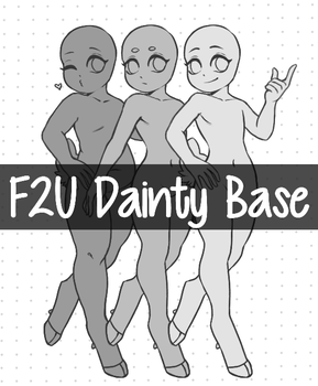 F2U DAINTY BASE- Strut Base by Pajuxi-Adopts