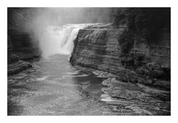 2014-198 Letchworth Upper Falls by pearwood