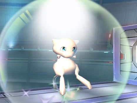 Rare Mew by GameLord-Hatena