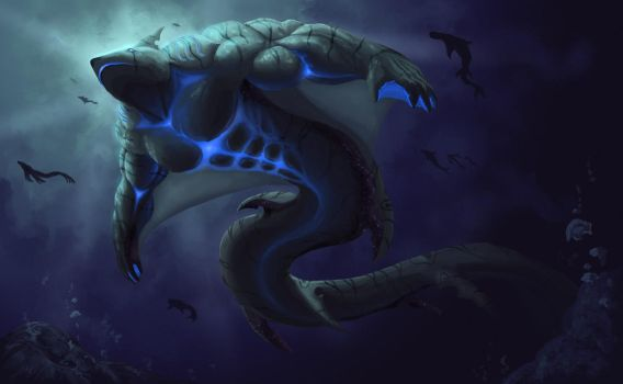 Thyani, Tides Embodied - Adasatra Illustration by Cryptos13