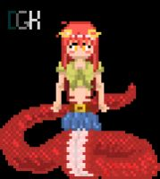 Monster Musume - Miia pixel gif by DarjingWriter