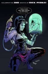 TLIID 119. Action Mary Shelley by AxelMedellin