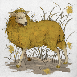 the golden sheep by wakesfield