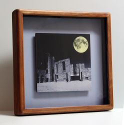 Saint Boniface Cathedral in Handcrafted Frame by Joe-Lynn-Design