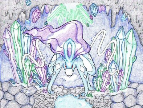 Suicune: The Pure One by wanderingsoul95