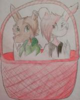 Happy Easter! by KateTheArtisticFox