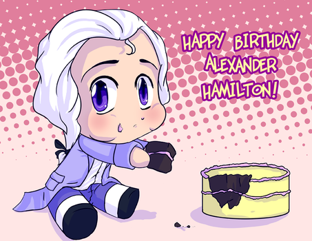 Happy Birthday Hamilton by VoidStone